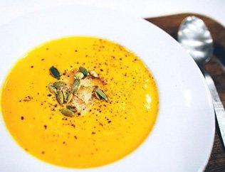 Суп из печеной тыквы рецепт — photo 2